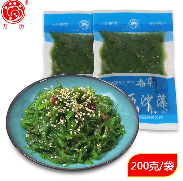 大连即食海草海藻沙拉丝